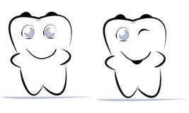 зуб Стоковое Изображение RF