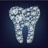 Зуб Diamon Стоковое фото RF
