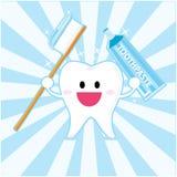 зуб smiley Стоковые Изображения RF