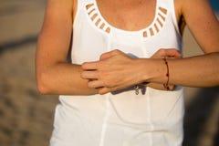 Зудеть руки Стоковая Фотография