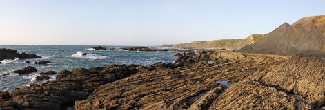 зюйдвест Португалии естественного парка alentejo Стоковые Фотографии RF