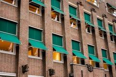 Здание Амстердама Стоковая Фотография