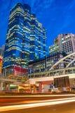 Здание Бангкока Sathorn, Таиланд Стоковые Фото