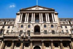 Здание банка, Лондон стоковые изображения