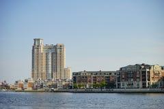 Здание Балтимора городское стоковая фотография rf
