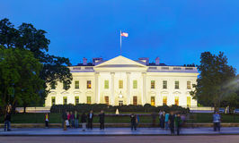 Здание Белого Дома в Вашингтоне, DC Стоковая Фотография