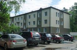 Здание больницы Star City Стоковые Изображения RF