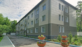 Здание больницы Star City Стоковые Фотографии RF