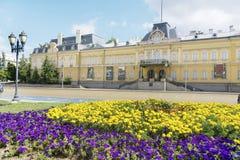 Здание бывшего королевского дворца Сегодня национальная художественная галерея в Софии стоковые фото