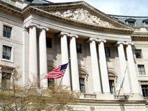 Здание 2011 Вашингтона Ariel Rios федеральное стоковое изображение