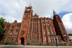 Здание Виктории университета Ливерпуля стоковые изображения