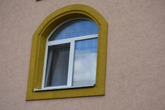 Здание возражает здание, Стоковое Изображение