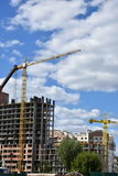 Здание возражает здание, Стоковая Фотография