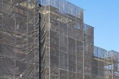 Здание во время реновации Стоковые Фото