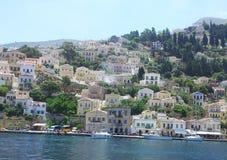 Здание в Греции Стоковая Фотография