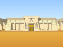 Здание в египетском стиле Стоковая Фотография