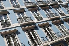 Здание в Лиссабоне Стоковое фото RF