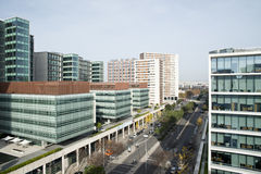 Здание в Лиссабоне Стоковое Изображение