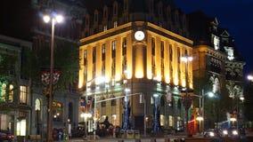 Здание в ноче Стоковое Фото