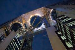 Здание в Осака, япония неба Umeda Стоковое фото RF