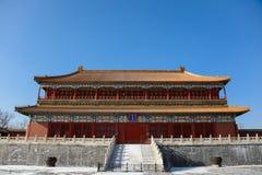 Здание в Forbidden City Стоковые Фото