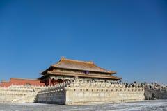 Здание в Forbidden City Стоковая Фотография