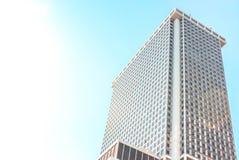 Здание в NY стоковое изображение rf