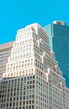 Здание в NY стоковое фото rf
