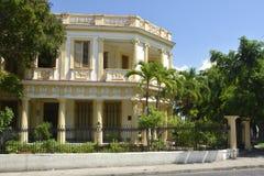 Здание Гаваны Кубы красиво восстановленное стоковое изображение rf