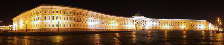 Здание генерального штаба Стоковая Фотография