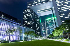 Здание Гонконга корпоративное Стоковая Фотография