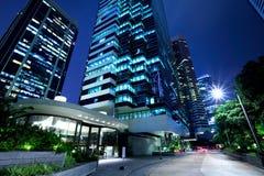 Здание Гонконга корпоративное Стоковые Изображения