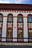 Здание города в szerencs Стоковое фото RF