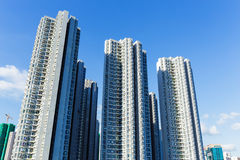 Здание государственного жилого фонда в Гонконге Стоковая Фотография RF