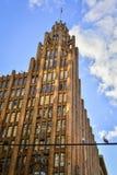 Здание единства Манчестера стоковое изображение rf