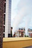 Здание завода топления Стоковые Фотографии RF