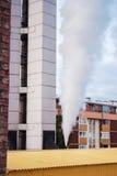 Здание завода топления Стоковое фото RF