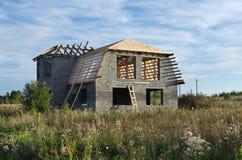 Здание загородного дома Стоковая Фотография