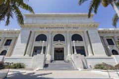 Здание здание муниципалитета Вентуры в южной Калифорнии Стоковое Фото