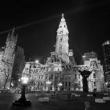 Здание здание муниципалитета ориентир ориентира Филадельфии историческое Стоковые Изображения