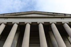 Здание здания суда Стоковые Фотографии RF