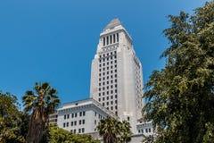 Здание здания суда Los Angeles County Стоковое фото RF