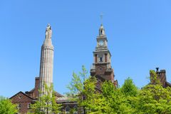 Здание здания суда Providence County, Провиденс, RI Стоковая Фотография RF
