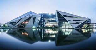 Здание диаманта БУШЕЛЯ университета Бангкока (коллеж Rangsit) Стоковое фото RF
