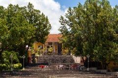 Здание и архитектура ЮНЕСКО Кубы в Тринидаде 13 Стоковое фото RF