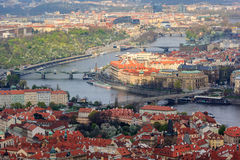 Здание и городской пейзаж, Прага стоковое изображение
