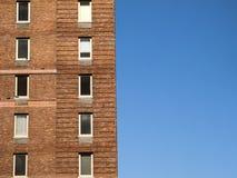 Здание и небо стоковая фотография