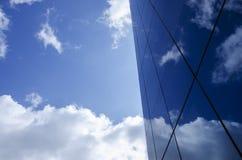 Здание и небо Стоковые Изображения RF