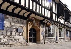 Здание Йорка Tudor Стоковые Изображения RF