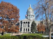 Здание капитолия Денвера, Колорадо, США Стоковые Фотографии RF